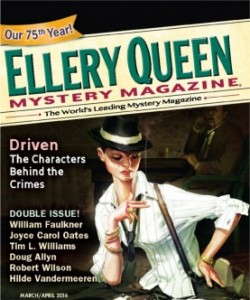 Ellery Queen Mystery Magazine - March/April 2016