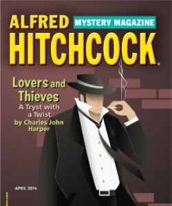 Alfred Hitchcock Mystery Magazine - April 2016