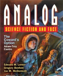 Analog Science Fiction and Fact - March 2016