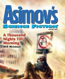 Asimov's Science Fiction - August 2015