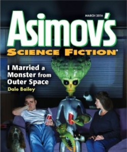 Asimov's Science Fiction - March 2016