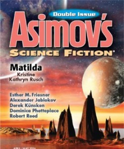 Asimov's Science Fiction - April/May 2016