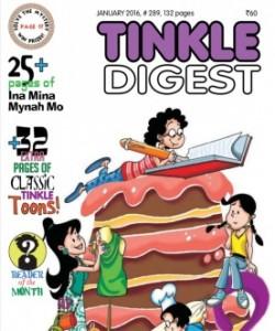 TINKLE DIGEST - January 2016