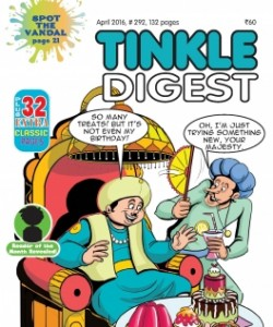 TINKLE DIGEST - April 2016