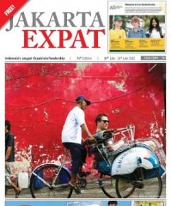 Jakarta  Expat - 18th July - 31st July