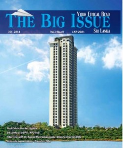The Big Issue Srilanka - October - December 201..