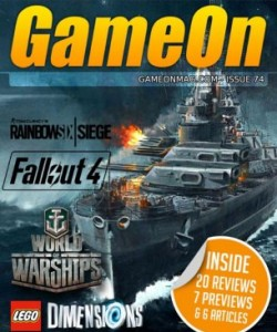 GameOn Magazine - Issue 74 - November 20..