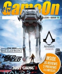 GameOn Magazine - Issue 75 - December 20..