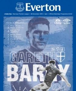 Everton Programmes - Everton v Stoke City