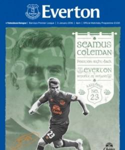 Everton Programmes - Everton v Tottenham Ho..
