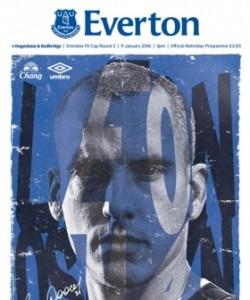 Everton Programmes - Everton v Dagenham & R..