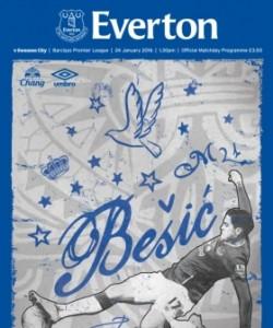 Everton Programmes - Everton v Swansea City