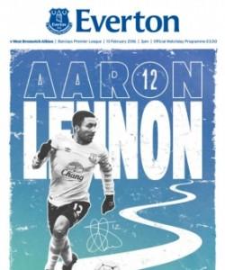 Everton Programmes - Everton v West Bromwic..