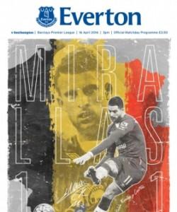Everton Programmes - Everton v Southampton
