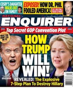 National Enquirer - August 01 2016