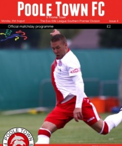 Poole Town Official Matchday Programme