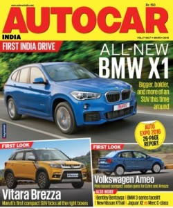 Autocar India - March 2016
