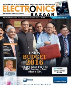 Electronics  Bazaar - April 2016