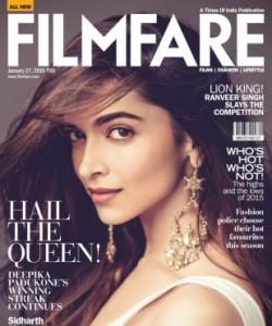 Filmfare - January 27 2016