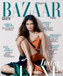 Harper's Bazaar India - August 2015