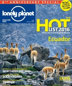 Lonely Planet Magazine India - February 2016