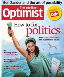 The Intelligent Optimist (formerly ODE magazine) - Sep - Oct 2012