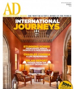 AD Architectural Digest India - July - August 2015