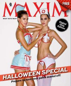 Maxim USA - Halloween Special issue