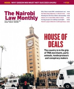 The Nairobi Law Monthly