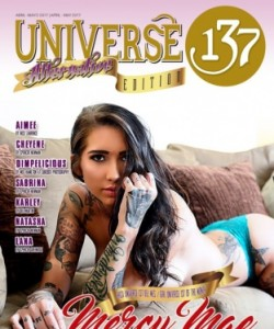 UNIVERSE 137 MAGAZINE ALTERNATIVE  EDITION